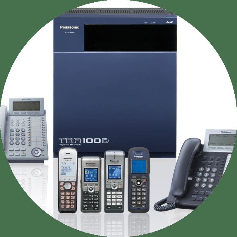 نصب راه اندازی و عیب یابی تلفن سانترال و voip - پشتیبانی it